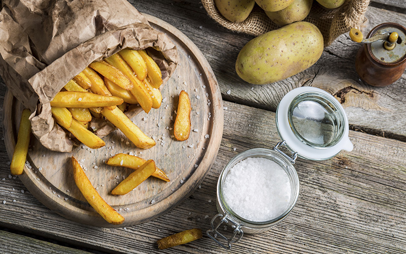 Organic French Fries Recipe