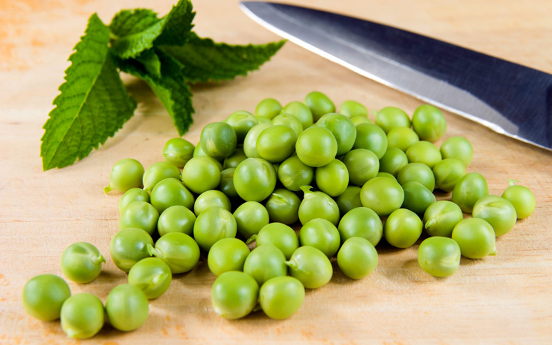 Peas and Mint Salad Recipe