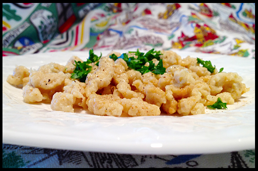 Simple Spaetzle from Scratch | The Huffington Post