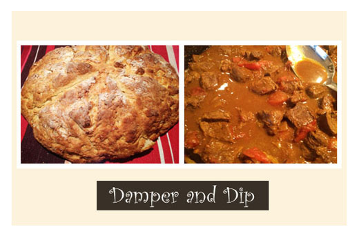 Damper and Dip: An Aboriginal Tradition