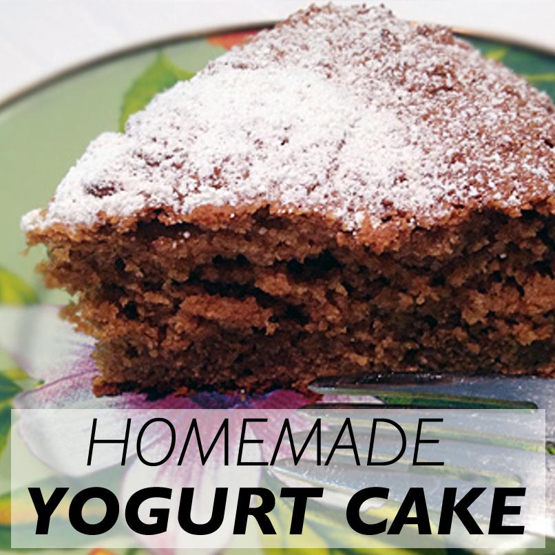 Yogurt Cake | Maria's Farm Country Kitchen
