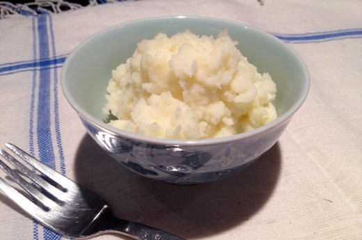Quick Homemade Mashed Potatoes from Scratch