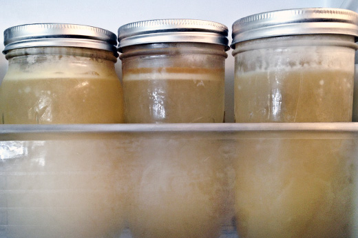 Homemade Chicken Broth from Scratch