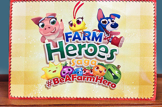 Be a Farm Hero?!