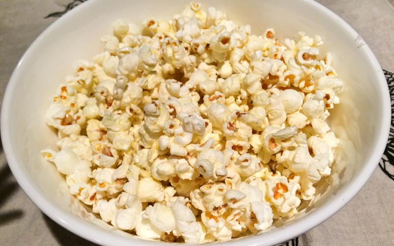 Popcorn From Scratch