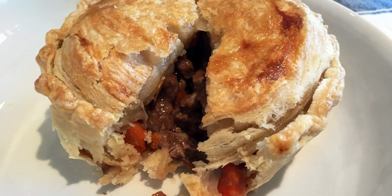 How to Make an Aussie Meat Pie from Scratch, Part III: Organic Puff Pastry