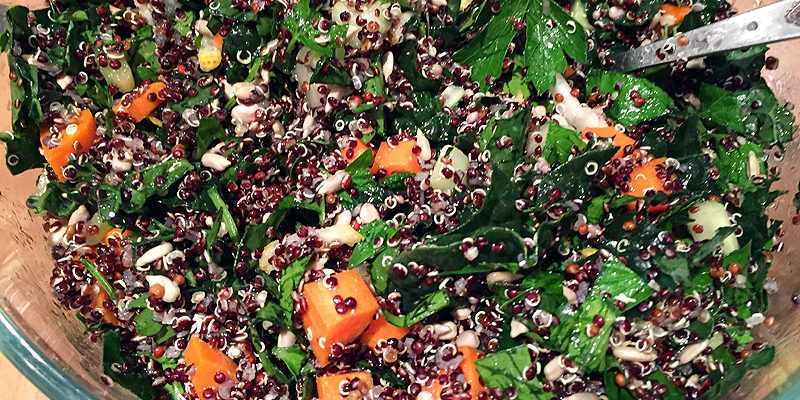 Quick and Yummy Quinoa Salad
