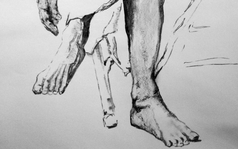 The Guru's Feet