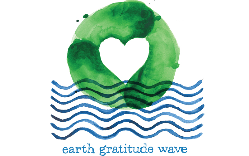earth gratitude wave