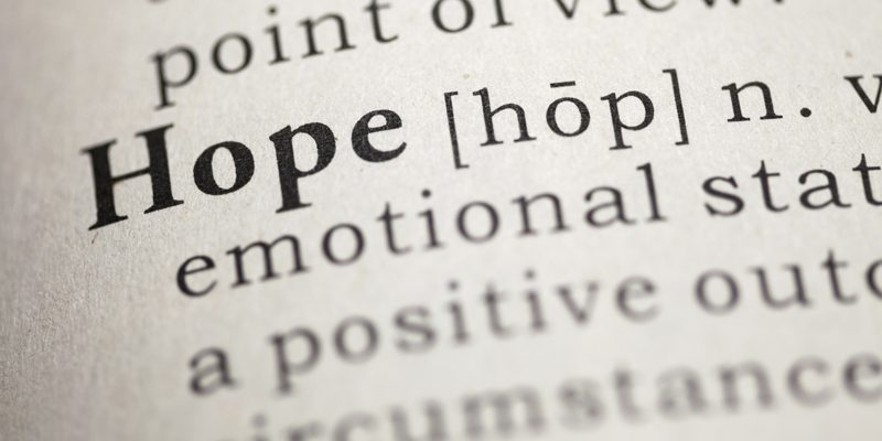 The Most Powerful Word in the English Language: Hope