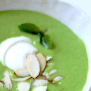 Frozen Pea Summer Soup