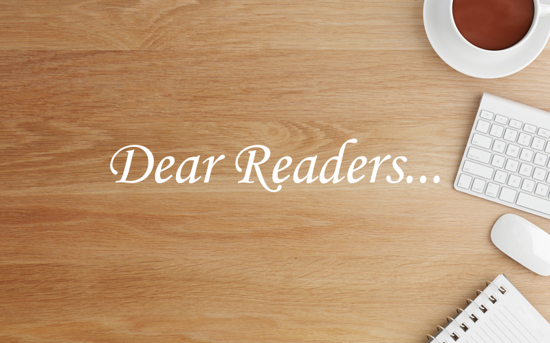 Dear Readers 2015