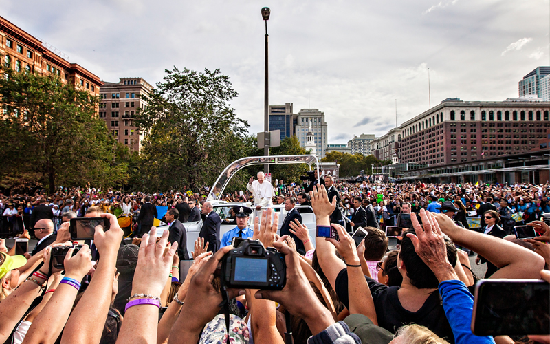 Pope Francis Photographed in Philadelphia by Jared Gruenwald