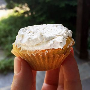 Vanilla Cupcakes from Scratch