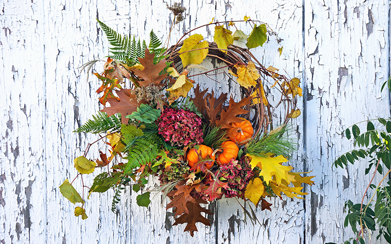 DIY Autumn Foraged Wreath
