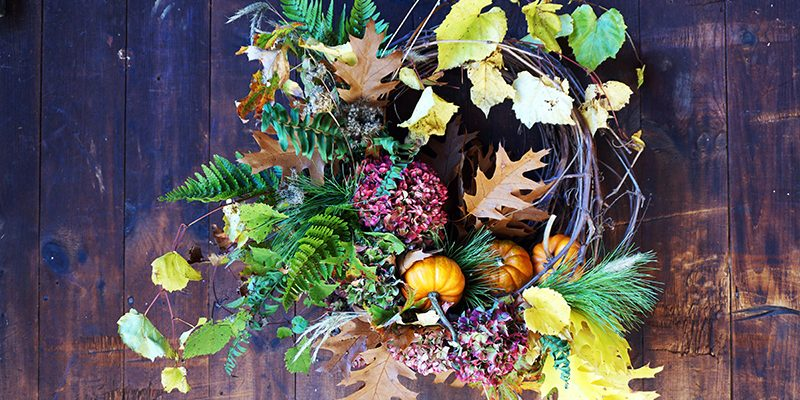Autumn Craft: Wild-Foraged Wreath