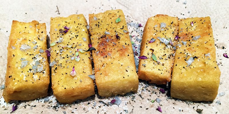 Quick and Easy Panisse from Scratch