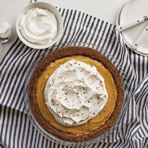 No Bake Pumpkin Pie Recipe
