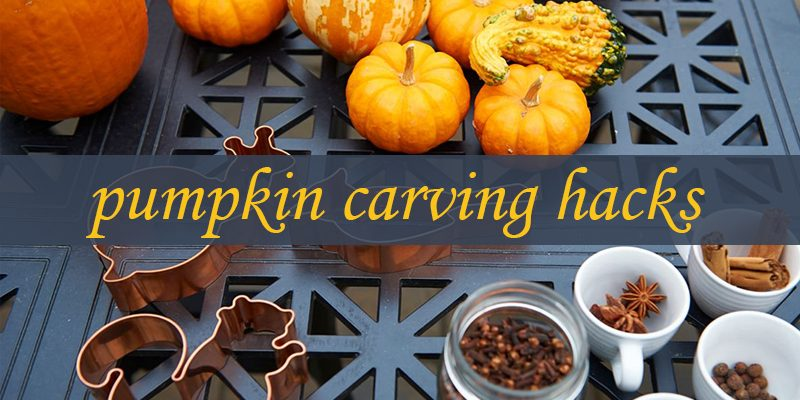 5 Clever Pumpkin Carving Hacks