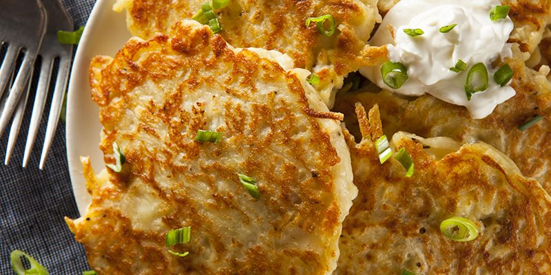 Traditional Latkes