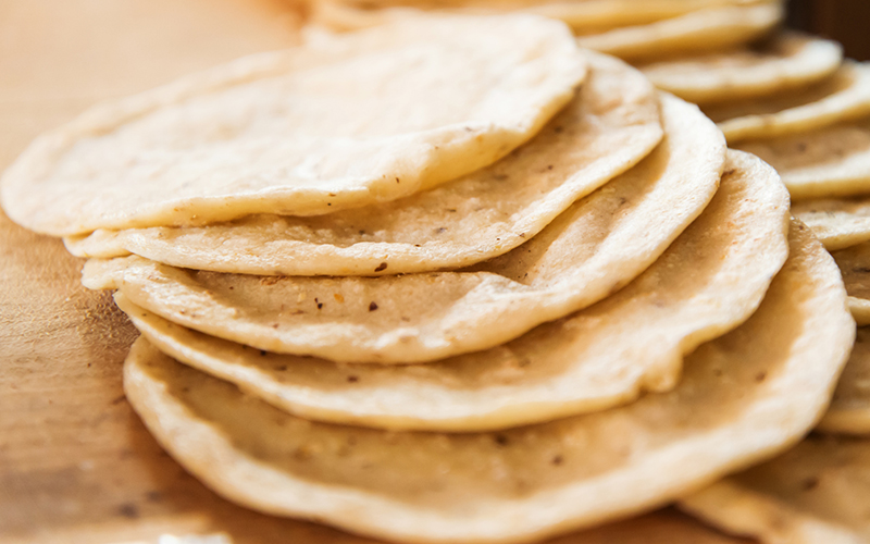 Handmade Corn Tortillas from Scratch