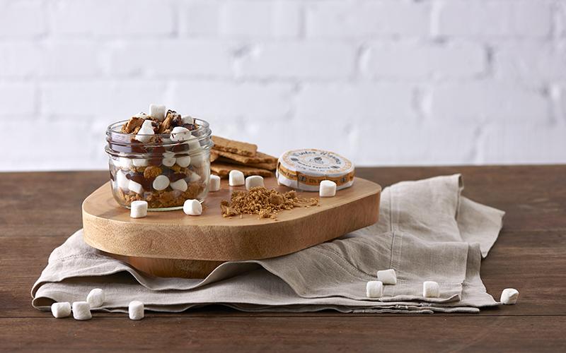 Marshmallow Mason Jar Dessert