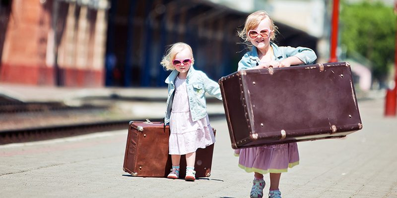 Vacation Packing Tips: The Kid's Suitcase