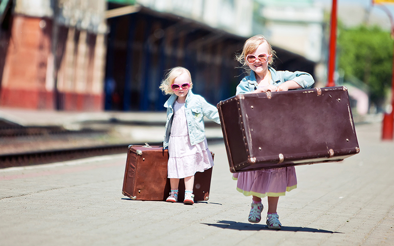 Vacation Packing Tips The Kid S Suitcase Maria S Farm