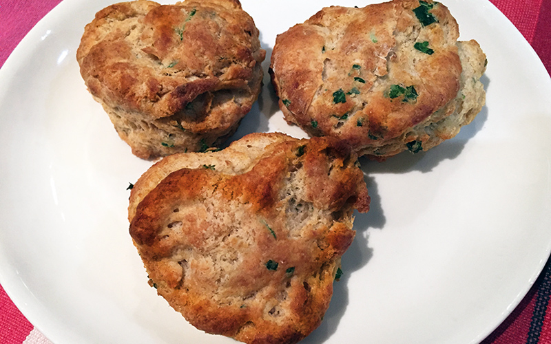 Herbed Biscuits from Scratch