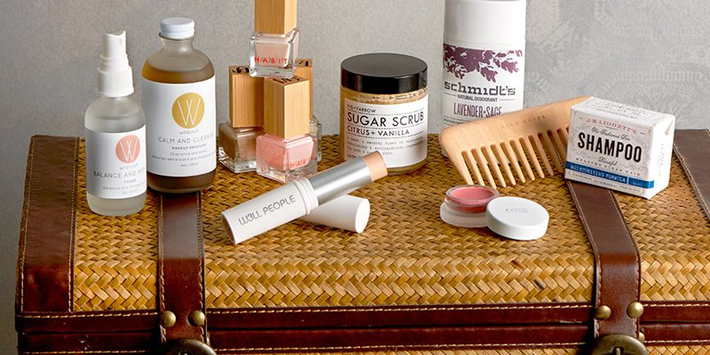 What to Pack in Your Natural Beauty Travel Bag