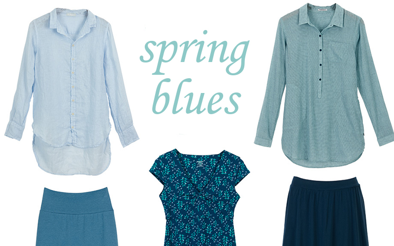 5 Earth-Friendly Blue Pieces to Wear This Spring