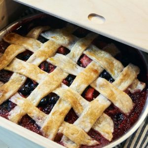Four Berry Pie Recipe