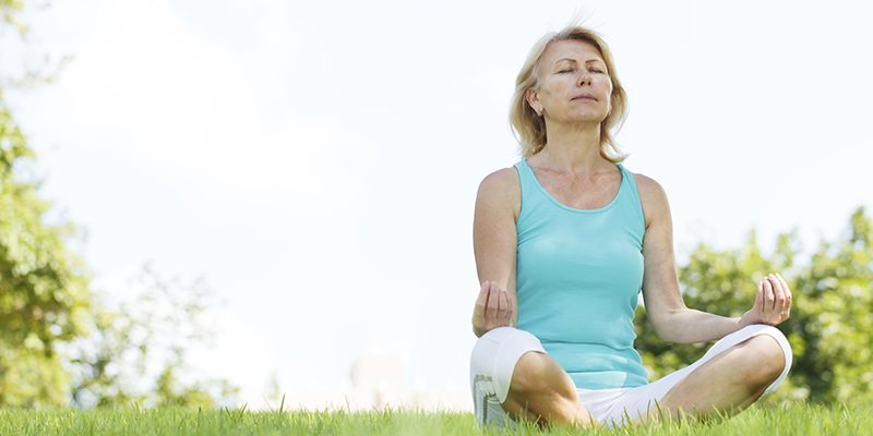 Anti-aging Yoga: Healthy Knees, with a Twist!