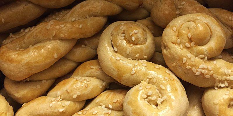 Koulouria—A Traditional Greek Dessert