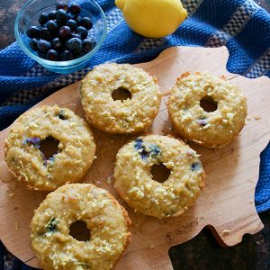 Lemon Blueberry Donut Recipe