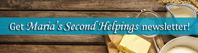 Second Helpings Banner Newsletter
