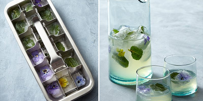 Tons of Fun Ways to Use a Stainless Ice Cube Tray