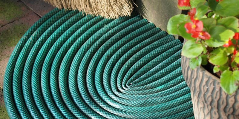 How to Make a Garden Hose Doormat