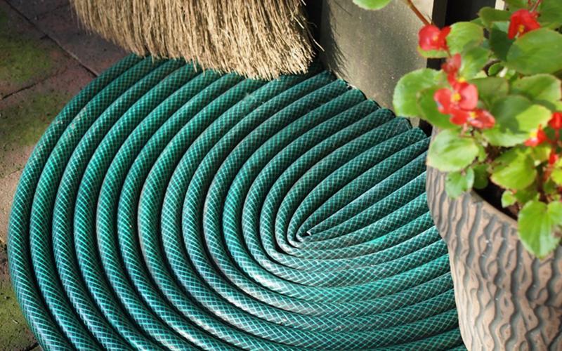 Garden Hose Doormat DIY