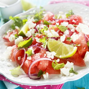 Easy and Refreshing Watermelon and Feta Salad