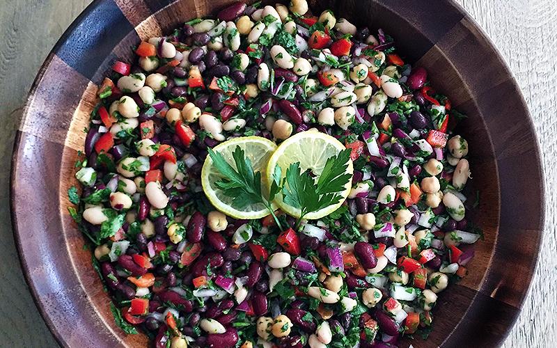 Med Bean Salad
