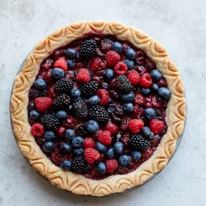 The Easiest Summer Fruit Pie