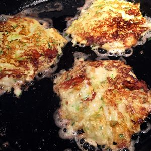 Zucchini Fritters for Breakfast, Lunch, or Dinner!