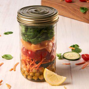3 Healthy & Delicious Mason Jar Meals