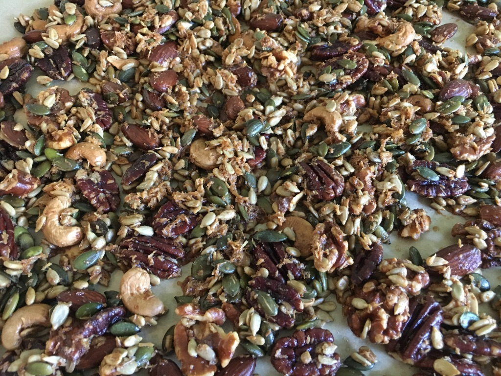 Just Nuts and Seeds Granola